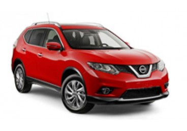 Nissan Xtrail or Similar. The vehicles shown are examples. Specific makes/models within a car class may vary in availability and features such as passenger seating, luggage capacity, equipment and mileage.