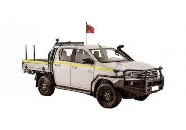 4WD Mine Equipped Dual Cab or Similar