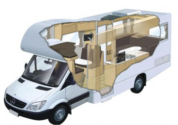 6 Berth Motorhome. NOTE: You may be allocated any of the vehicle types seen in the images or slight variations of these (see Photos tab below). Specific vehicle type/layouts cannot be requested. No children under 8 years old or requiring a booster or child seat. Toilet, shower, sleeping and cooking for 6 people.