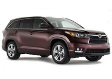 Toyota Kluger or Similar. The vehicles shown are examples. Specific makes/models within a car class may vary in availability and features such as passenger seating, luggage capacity, equipment and mileage.