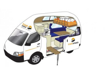 This is a 2-3 Person Hitop Campervan suitable for up to 3 people.