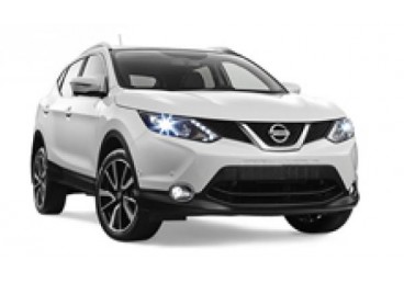 Nissan Qashqai or Similar. The vehicles shown are examples. Specific makes/models within a car class may vary in availability and features such as passenger seating, luggage capacity, equipment and mileage.