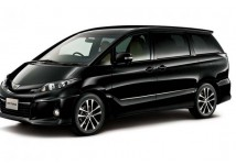 8 seater people mover, Toyota Estima or similar