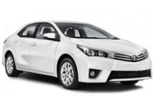 Toyota Corolla Sedan or Similar. The vehicles shown are examples. Specific makes/models within a car class may vary in availability and features such as passenger seating, luggage capacity, equipment and mileage.