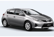 Toyota Corolla Hatchback or Similar. The vehicles shown are examples. Specific makes/models within a car class may vary in availability and features such as passenger seating, luggage capacity, equipment and mileage.